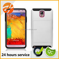 2 in 1 combo sublimation case for Samsung galaxy note 3, hard case for Samsung note 3