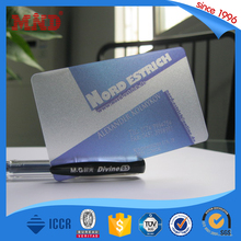 MDP247 Transparent business gift cards manufacturers