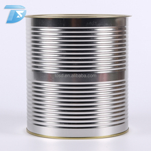 wholesale round 3kg packaging for tomato paste, fruit, bean tin cans for food canning