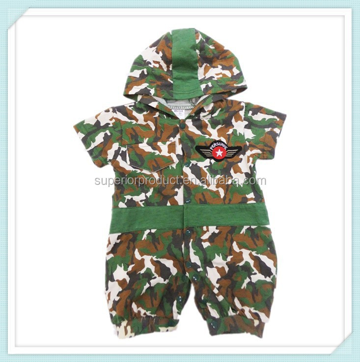 New Spring Autumn Bape Shark Camouflage Baby Rompers Cotton Hoody Newborn Boy Girl Jumpsuit Baby Clothing