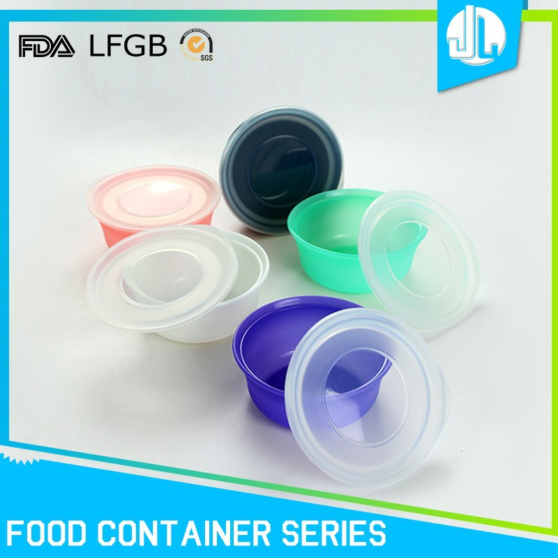 Promotion silicone material insulated container to keep food hot