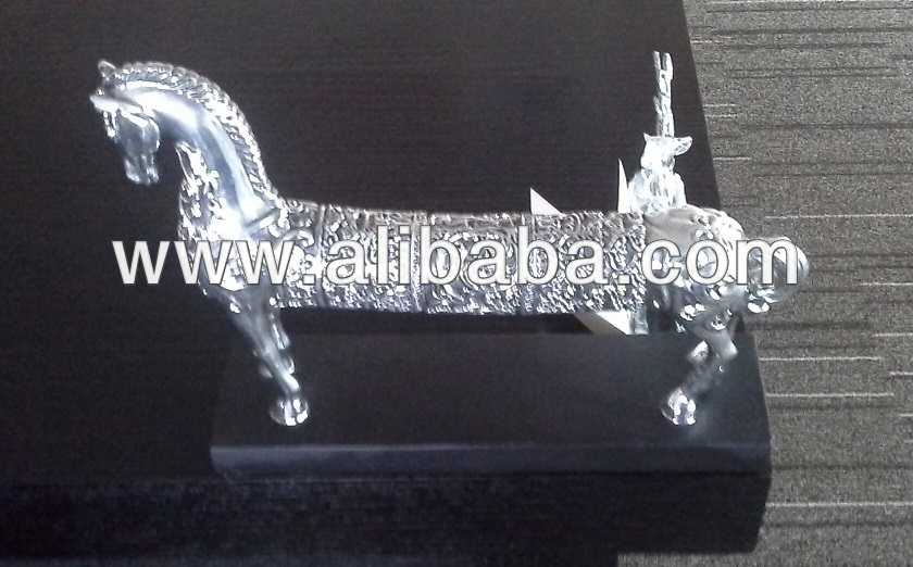Metal Animal Art Deco