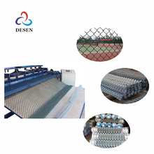 heavy duty chain link fence posts machinery