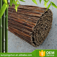 brown willow screen fencing roll for plantation/nursery/garden