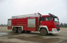 12CBM water and foam tank fire truck