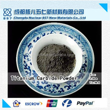 High purity titanium carbide powder/free sample/100% factory manufacture