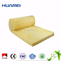 Good fireproof performance glass wool board blanket insulation for fireplaces