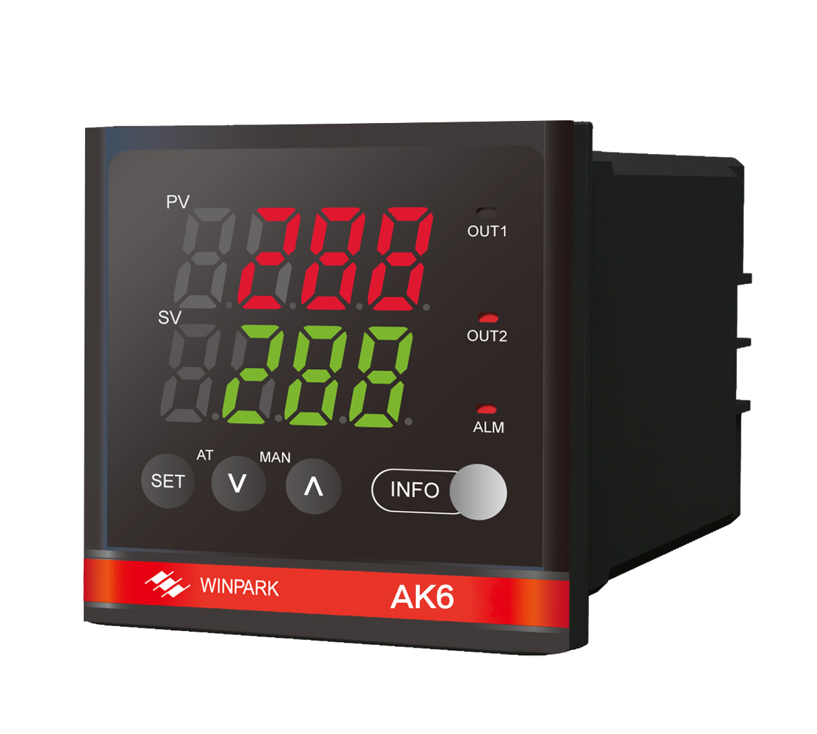 extruder temperature controller Winpark AK6-AKL110 smart home plc (sincerely looking for cooperation)