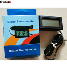 Best Digital LCD Probe Fridge Freezer Thermometer Thermograph