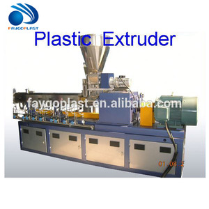 conical twin screw extruder for pvc trunking SJZ51