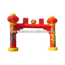 2013 Newly Design promotion entrance arch inflatable