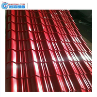 trade assurance metall roofing sheets & tiles /color coated zinc corrugated steel roofing sheet china supplier with SGS