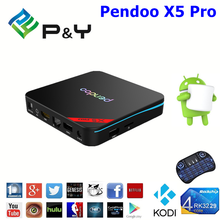 2017 Best selling Pendoo X5 Pro RK3229 1G 8G android app download wholesale online ott 6.0 tv box