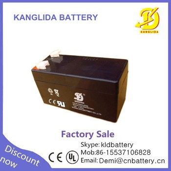 12v1.3ah VRLA deep cycle storage battery for automatic door henan manufacturer