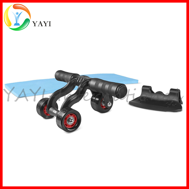 3 Wheel AB Roller Abdominal Exercise Machine