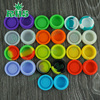 Cheap Price Wholesale 3ml/5ml/7ml container silicone jars for wax/oil extract bho
