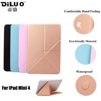 Custom Transformer Ultra Thin PU Leather Tablet Cover Case for Apple iPad Mini 4