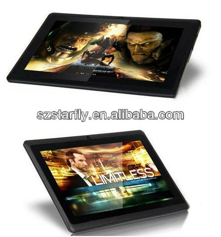 "7"" Q88 tablet pc 5 point capacitive Screen + android 4.0 + Multi Touch + 1.2GHz 512MB 4GB + Webcam + Wifi + HDMI"