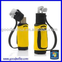 Fashion newest Golf Bag usb disk 2.0 for sports souvenir Golf Bag usb