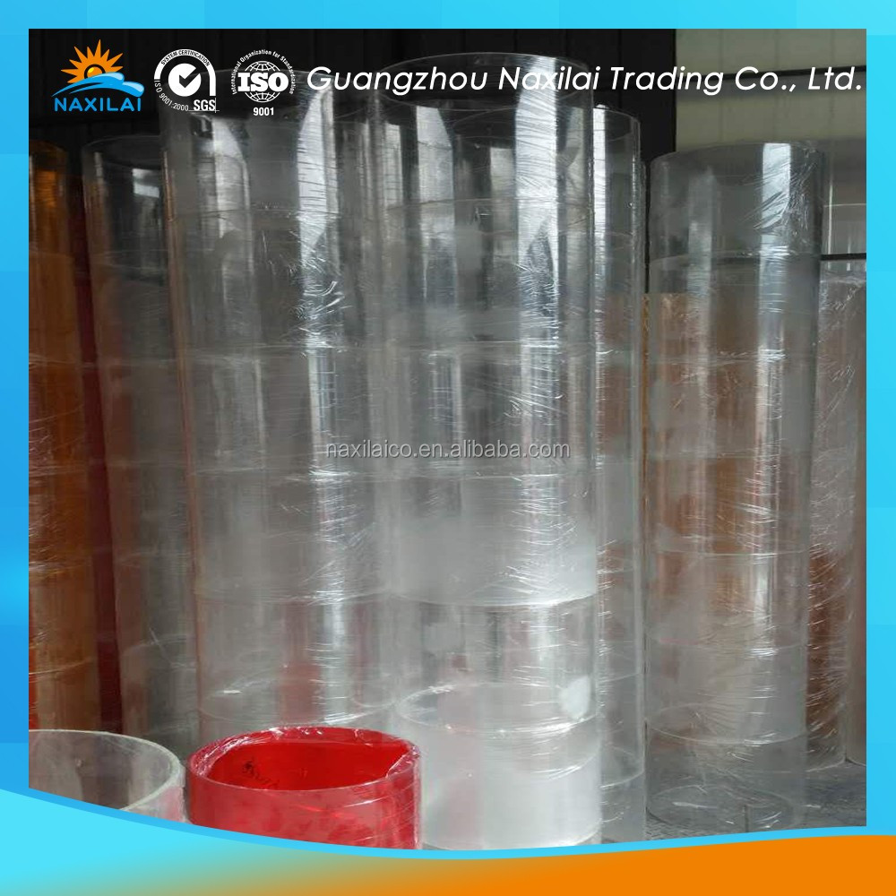 thick wall pipe thick pmma plastic transparent