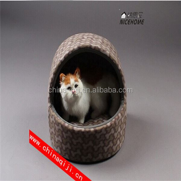Hot wholesale high quality warm nice beauty oop pet dog cat teepee tent bed