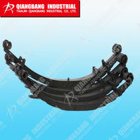 Qiangbang 60Si2Mn leaf springs car suspension parts