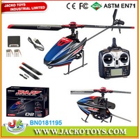4CH Full Function Stunt RC Helicopter 2.4G Single Blade