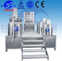 Yuxiang High Quality 500L cream for erection production line jacket chemical reactor
