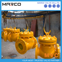 Professional manufacturing casted or forged steel piston type lift check valve