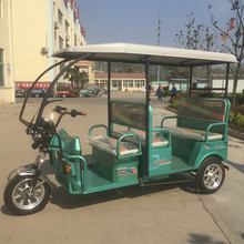 Enclosed newest for passenger seat/closed electric tricycle/3 wheels cycle