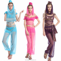 walson Instyles Women New Colorful Belly Dance Costume Bra and Belt Set Indian Dancing Clothes