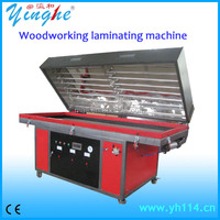 Economical Vacuum Membrane Laminating machine three-dimensional wrapping of decorative machine