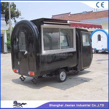 JX-FR220GH Fast food mobile kitchen van/electric food cart/ice cream truck for sale