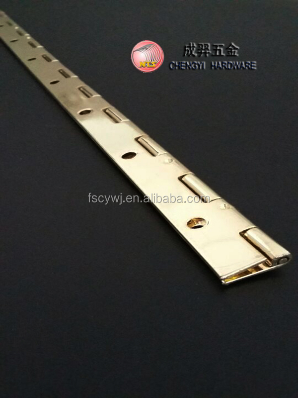 72 inch brass polishing continuous piano hinges