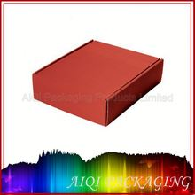printed luxury paper packaging box for wine bottle carrier / paper packaging box