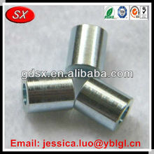 clear hole carbon steel spacer,round steel spacer,stainless steel pcb standoff spacer