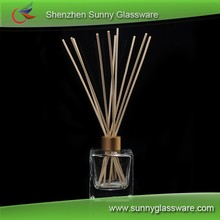 Wholesale fragrance car perfume bottle glass and reeds