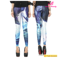 Pegasus print china girls sex pic,one size fits all leggings for girl