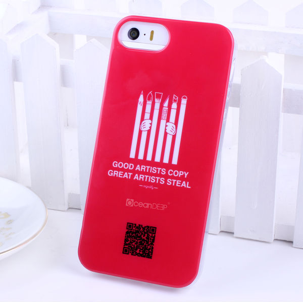 TPU IMD cover for Apple Iphone 5s case hot products 2014 new