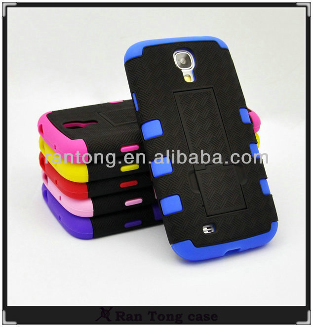 Rubber Mobile Phone Combo Robot Case For Samsung galaxy s4