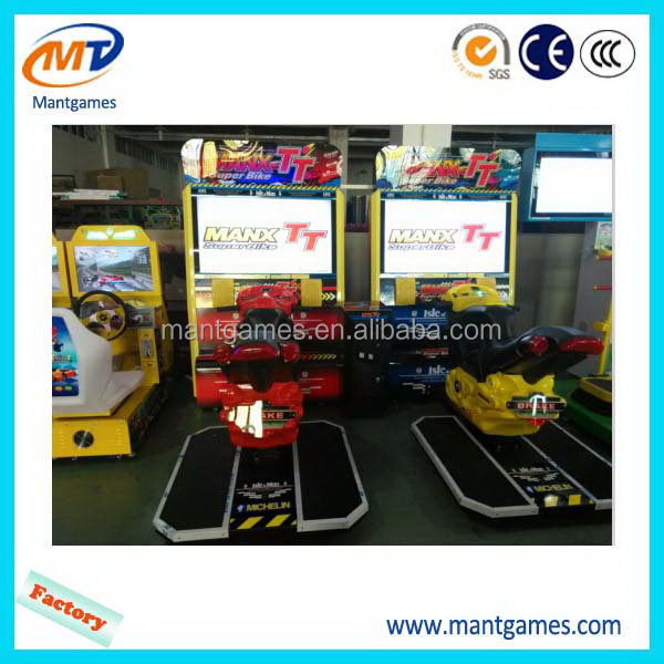 Designer TT moto/factory direct arcade luxury motor racing game machine
