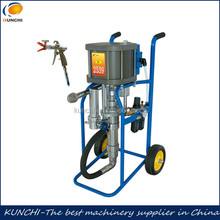 High pressure airless putty paint spraying machine with CE certificate