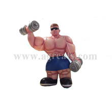 inflatable bodybuilding muscle man ground balloons for sale S2023