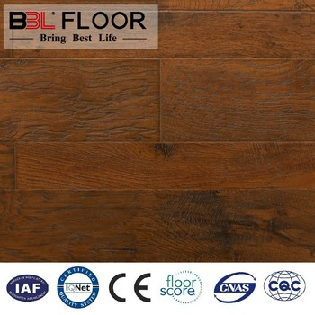 Waterproof laminate flooring manufacture factory product/wood plastic composite outdoor floor price
