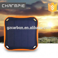 2017 solar mobile phone charger power bank 12000mah