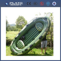 hot sale and top grade portable boat, rowing boat, durable military inflatable boat