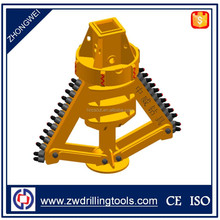 For Enlarging Pile Bottom Two Wing Belling Bucket Drill