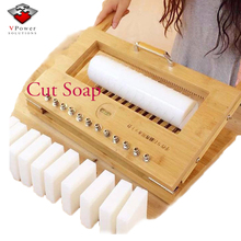 Wooden Handmade Soap Cutter with Wire, Cutter Mold for Loaf Soap and Soap Bar
