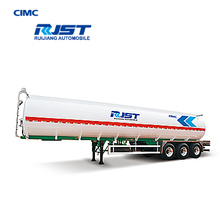 CIMC 42m3 Aluminum alloy oil transport semi-trailer/fuel tanker