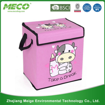 Fashional factory sale beautiful kids toys storage box